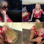 Amateur Clips By Sexy Fantasies – Taboo Blow Job and Cum Down Back of Throat as MILF Wearing Nose Clip and Sunglasses Cleans Home of Son (720p/clips4sale.com/2016)