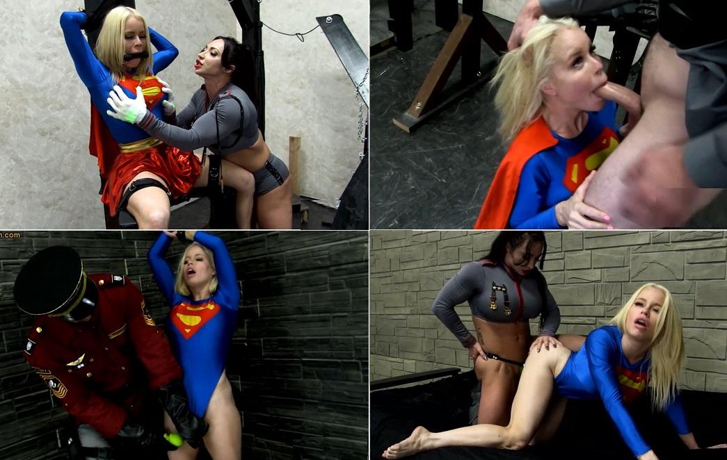 superheroine porno