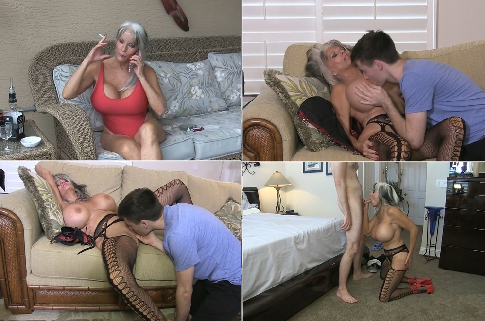 Big Tits Latina Mom Son