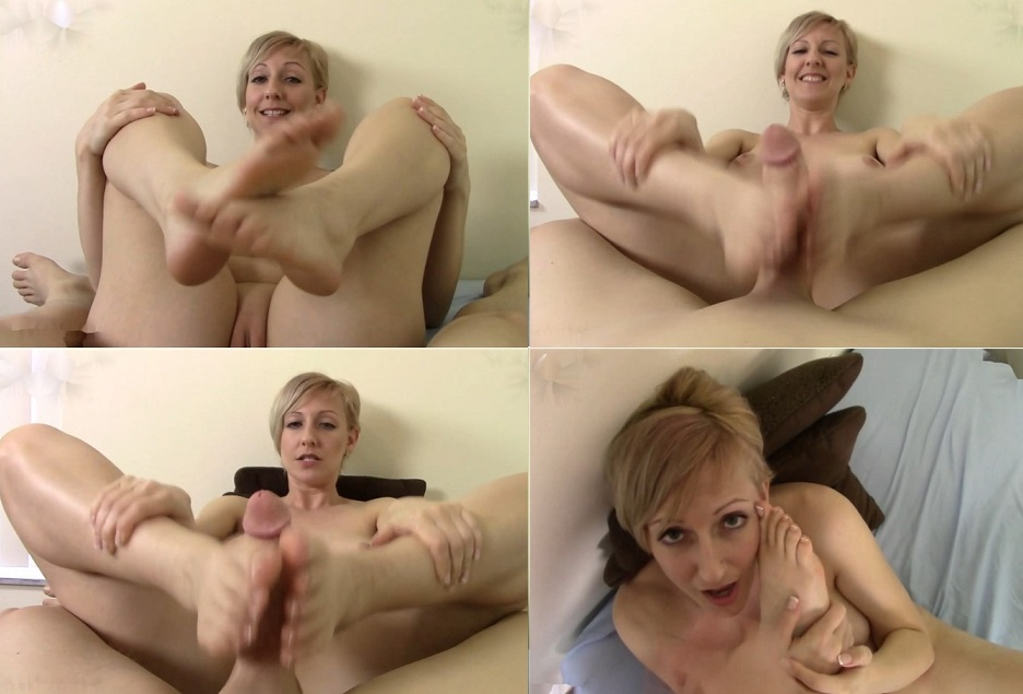 Brittany starr footjob with you
