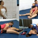 Melanie Hicks – Daddy Daughter Wrestle – mixed wrestling, blackmail fantasy FullHD (clips4sale.com/1080p/2017)