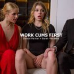 Giselle Palmer, Sarah Vandella – Work Cums First SD 2018