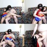 Limp Fetish – Wonder Woman Is Knocked Out, Felt Up, And Forced To Suck Cock With Violet Sky