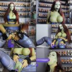KimberleyJx – Avengers: Infinity Girl – Cosplay, Gamora, Adult Comic Book FullHD mp4