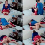 SibRus – Supergirl Spideragent – superheroines, costume, cosplay SD mp4 [clips4sale.com]