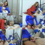 Queen Bitch – Cory Chase – Powergirl vs Supergirl In The Mausoleum HD mp4 [720p/clips4sale.com]