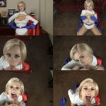 Sloppy Blowjob from Power Girl – cosplay, dc comic book HD mp4
