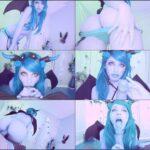 Cherry Crush – Succubus Halloween –  facial, swallow HD mp4