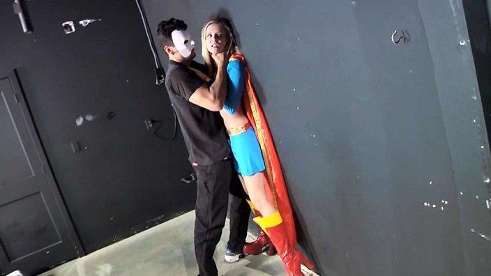 XXXtremeComiXXX - Supergirl Takes A Pounding - Laughing, Superheroine