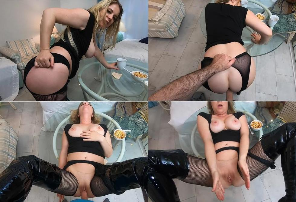 Webcam Incest Video - Erin Electra, Matthias Christ - Son fuck Mommy in leather boots