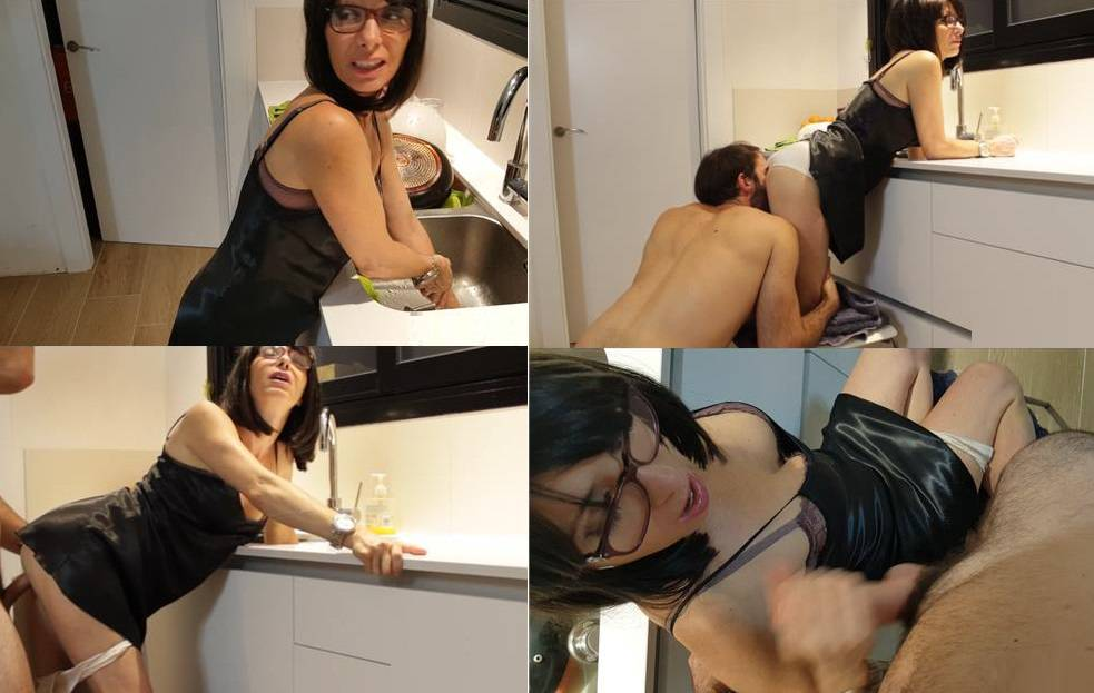 SATINFUN TABOO - Stuck in the hole (mother & son) POV STUCK M HD mp4