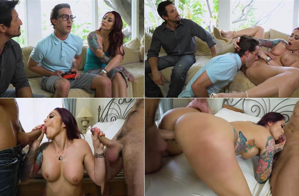 Lucas Frost, Monique Alexander - Parents find a way to motivate for their Son HD mp4