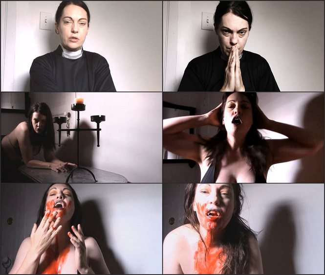 Transformation fetish MollySilver - Priest Becomes a Vampire HD mp4 720p