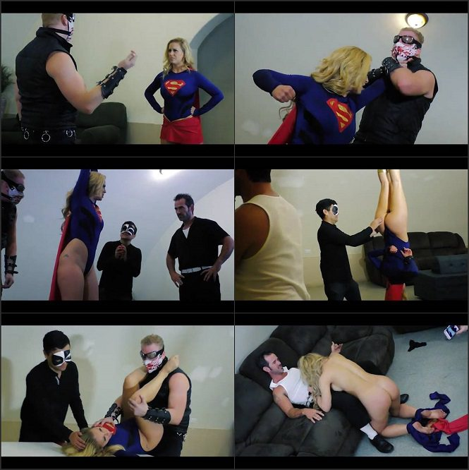 Cherie DeVille - Wonderous Girl faces a superior opponent that dominates - Mixed Wrestling SD mp4
