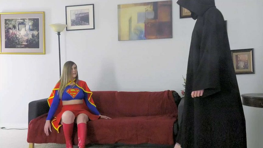 Extreme Comics Clips - Kendra Lynn - Monk delights in exposing the Kryptonian