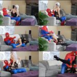 Bryci – Blackest Cat Seduces Spider – Heroine Adventures Cosplay FullHD mp4 [1080p/2019]