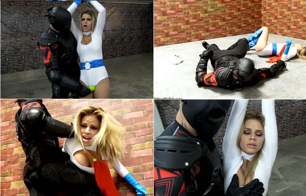 Primal Fetish clips - Jessa Rhode - Power Girl falls into an ambush by a magic wielding villain HD avi