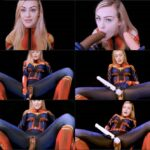 Clara Kitty – Captain Marvel's Mission to Please – Cosplay Porn, Superheroines FullHD mp4 1080p