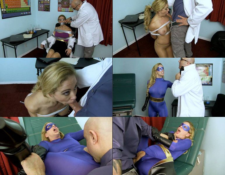 Primal's Disgraced Superheroines - Cherie Deville - Imperia - Vulnerable and Violated