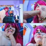 GodMotherOfAss – Fat Kitty BBW Messy Cum Facial BlowJob – cat costume, lip fetish, cum on face HD mp4