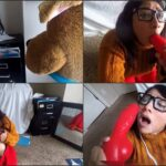Sweet Milk Tits – Giving Velma a Scooby snack – spit & huge cum shot, super hero FullHD mp4 1080p
