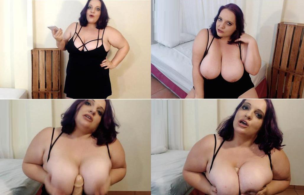 Obsessed with Mommys Huge Tits BBW Taboo - ChellyKoxxx - Manyvids