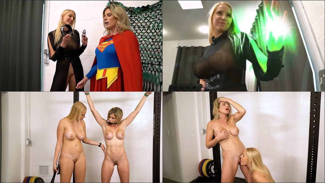Cory Chase, Vanessa Cage in Supergurl is Trained and Broken