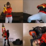 Cherie Deville – Super Mountie – Humiliation, Mixed Wrestling HD mp4 720p