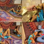 Manyvids Cosplay Porn – VivaAthena – Horny Princess Jasmine sucks Genie's big blue cock FullHD mp4
