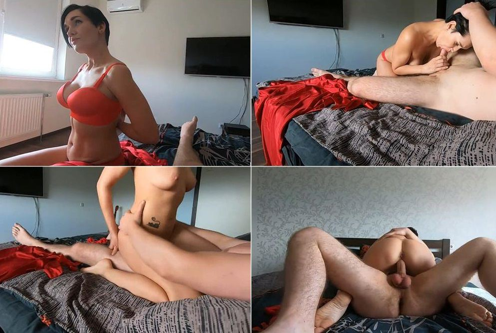 I hold my Mom tight and came inside - Hot Mommy HD avi 720p