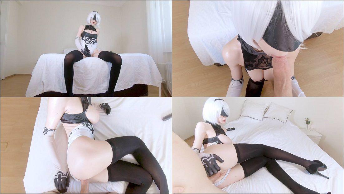 Hardcore sex with 2B