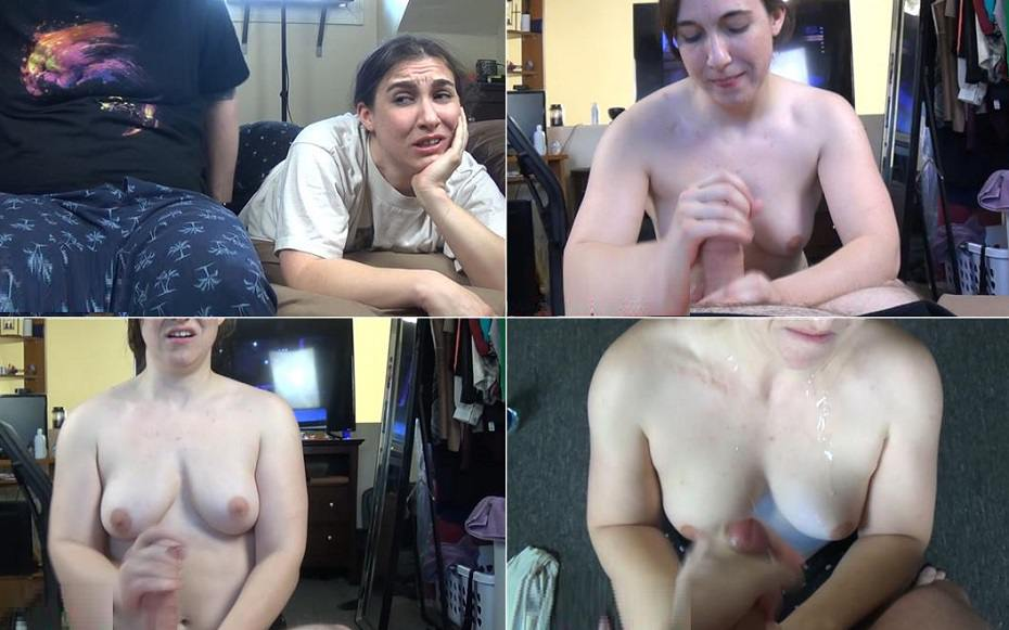 Jerking Off Front Sister