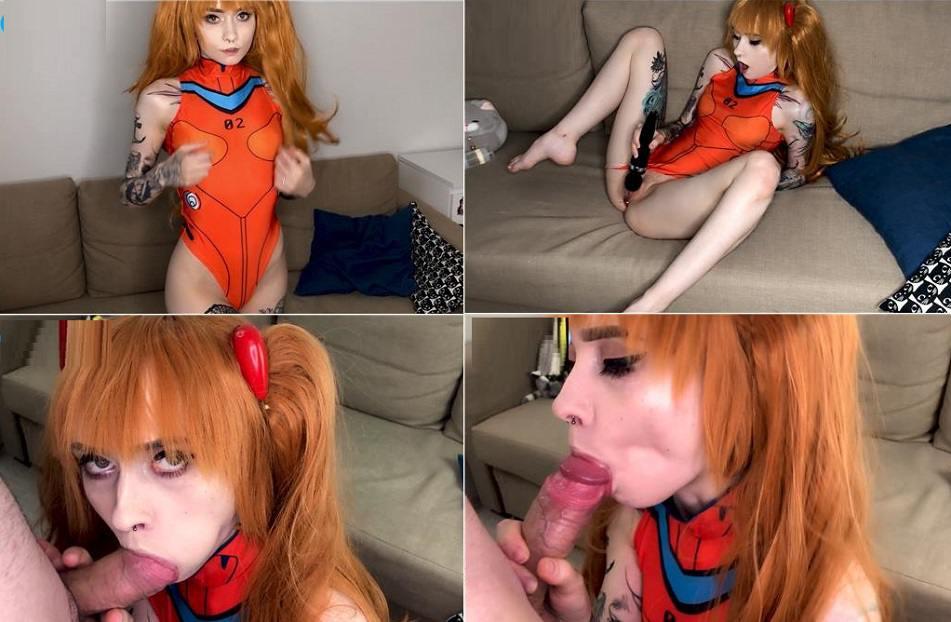 Manyvids Porn Zirael_Rem - Asuka likes anal sex FullHD mp4
