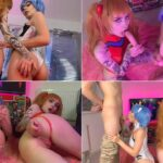 Polish Cosplay Porn Zirael_Rem – Asuka and Rei get fucked by guys FullHD mp4