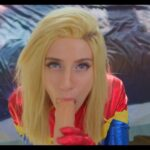 Comic Book Role Play Lana Rain – Do You Want To Date Captain Marvel 4k