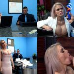 Employee TRAINS his BIG BOOBED BOSS – Cascaakashova – Amateur Boxxx  FullHD