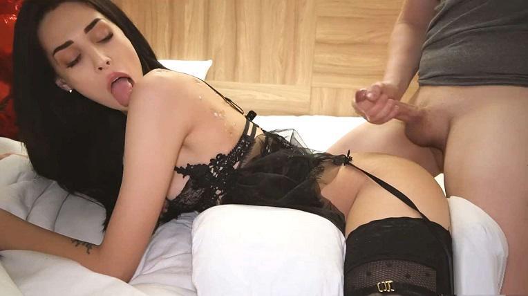 Amateur Brunette Small Tits