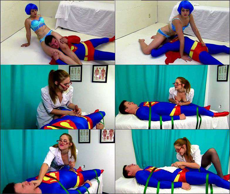 Primal's Disgraced Superheroines - Savannah Foxx - Superman Milked and Immasculated 1080p