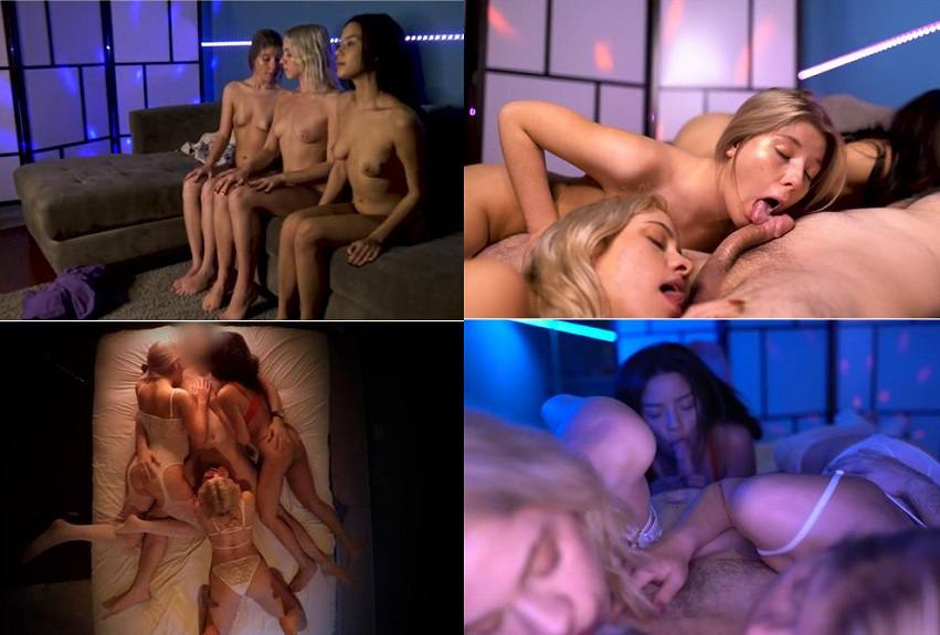 Trance Therapy -  Khloe Kapri, Maya Bijou, Vienna Rose - Mind Under Master HD