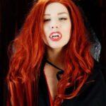 Ludella Hahns Fetish Adventures – Vampire Tit Play – Redhead Vampire Ludella's POV Tit Play Seduction 1080p