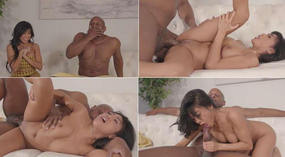 Daughter sees her step dad's BBC and can't help but taste it - Ember Snow FullHD 1080p 2020