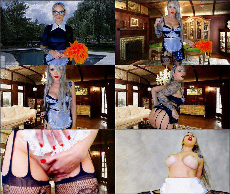 Dommebombshell - Domme Jerking Off Story - The House Keeper Succubus FullHD 1080p