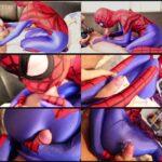 Nylon Extreme – Superheroines Spidergirl Blow job zentai FullHD 1080p