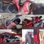 Cosplay Porn Nylon Extreme – Catwoman Zentai prisoner of Nylon FullHD 1080p