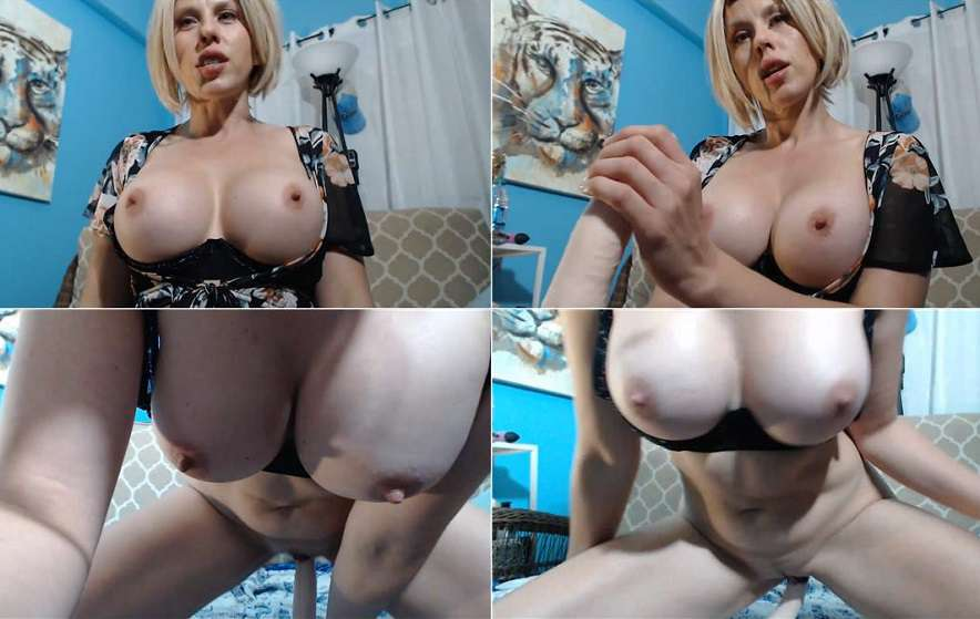 Mama Caught you Sneaking in POV - Amber Chase - Webcam Taboo Stories FullHD 1080p 2020