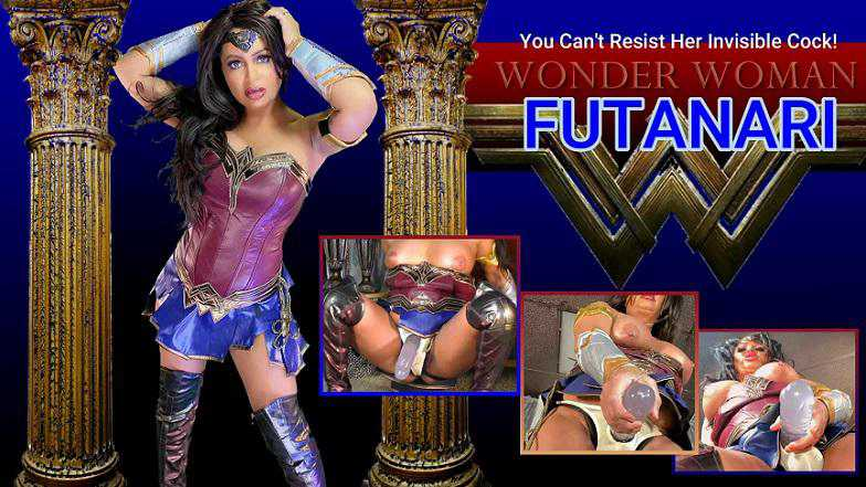 Siena Rose - Wonder Woman Futa Goddess FullHD 1080p