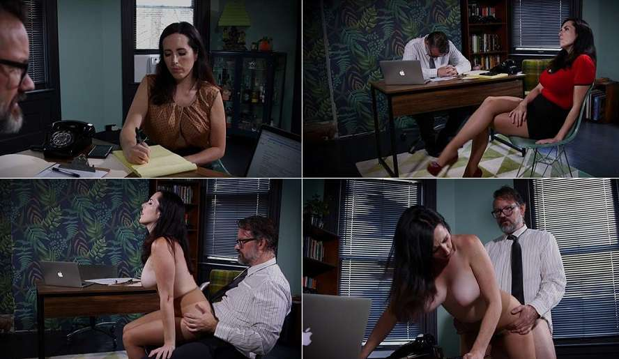 Mesmerizing Her Boss For His Cock & Wallet - Dixie Comet - That Kinky Girl 1080p FullHD