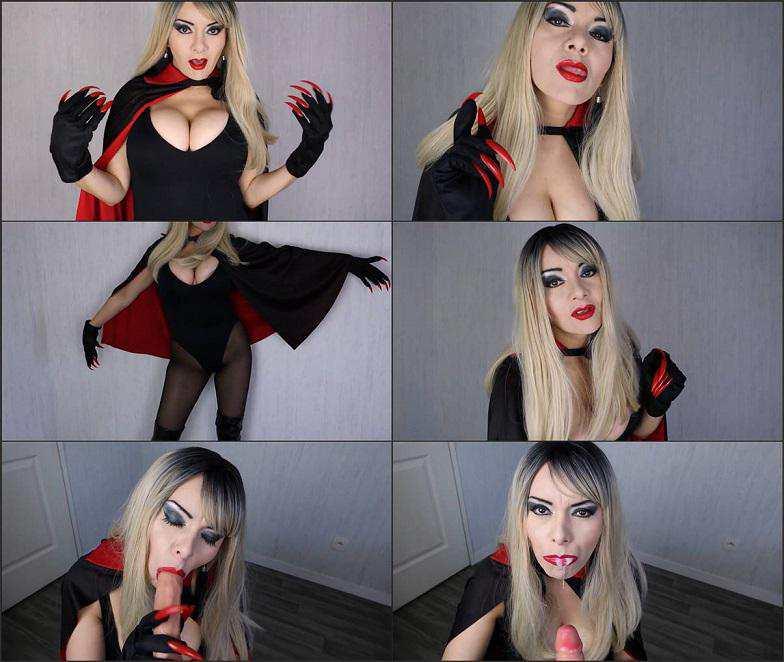 Cosplay Porn Sissi Viter - halloween vampire costume femdom FullHD 1080p