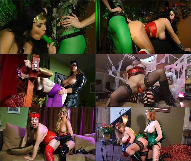 Anastasia Pierce - Super Fucked Heroines, Volume 1 FullHD 1080p