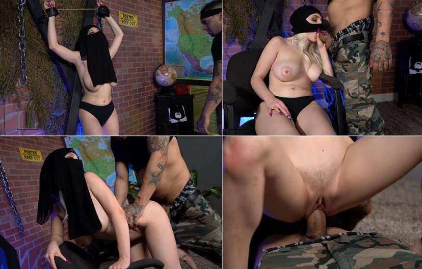 Amateur Boxxx - Skylar Vox , Bruno Dickemz - Sergeant Mesmerizes Middle Eastern Spy & Fucks Her FullHD 1080p